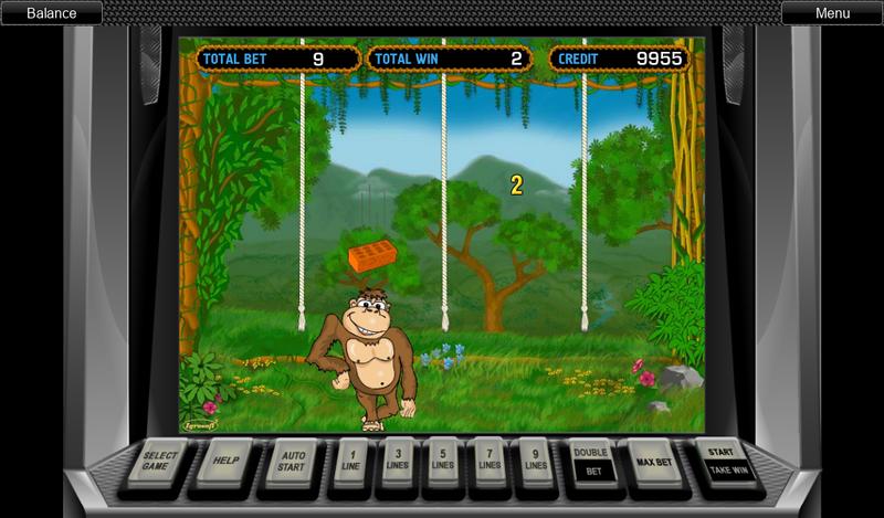 Обезьянки игровой автомат бонусная игра