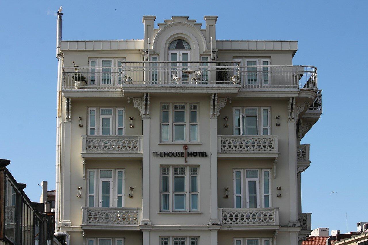 Стамбул. Ортакёй, вид с Босфора