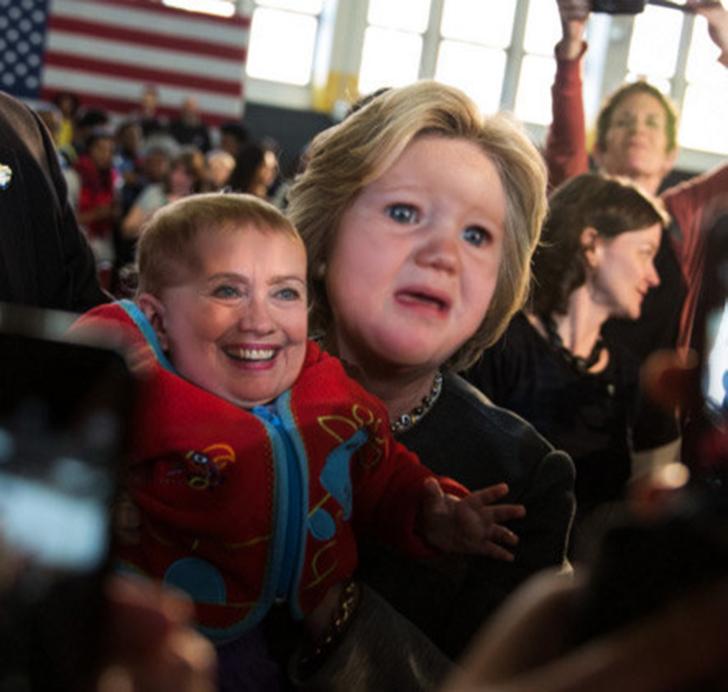 Хиллари Клинтон не ожидала такого поворота в предвыборной кампании.