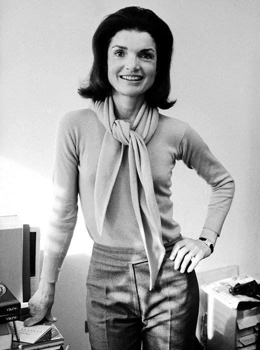 Жаклин Кеннеди построила успешную карьеру книжного редактора   Джеки всегда отлич