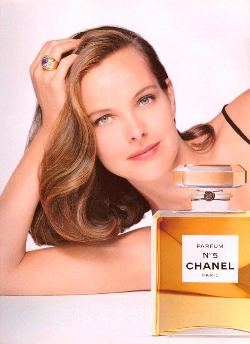 Кароль была лицом рекламной кампании аромата Chanel №5.    Кароль Буке была лицом Chanel на про