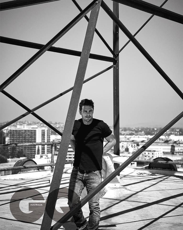 Джеймс Франко в GQ Australia