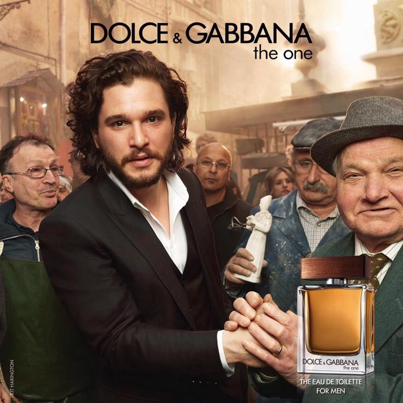 Эмилия Кларк и Кит Харингтон новые лица Dolce & Gabbana