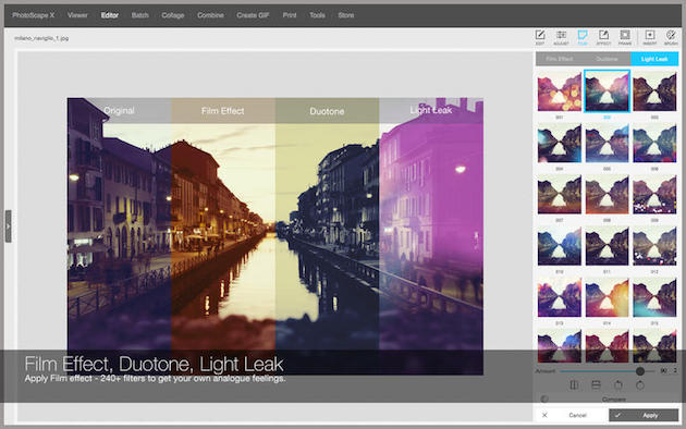 PhotoScape до недавнего времени казался заброшенным. Но разработка продолжилась, и свет увидела нова