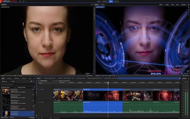 HitFilm Express — мощный бесплатный инструмент для видеомонтажа. Заплатить придётся только за некото