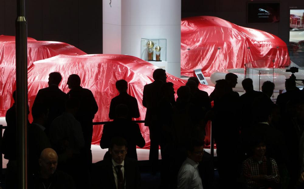 Генеральный директор немецкого автопроизводителя Audi AG — Руперт Штадлер на Audi Aicon: