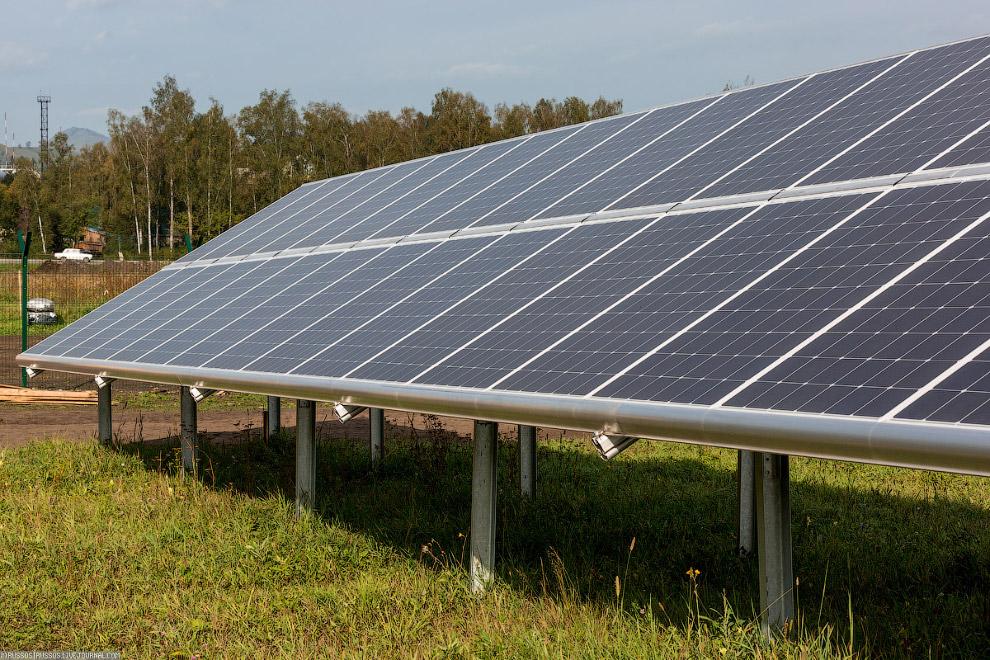 3. Основа любой солнечной электростанции — солнечные модули. Впервые в России были разработаны солне