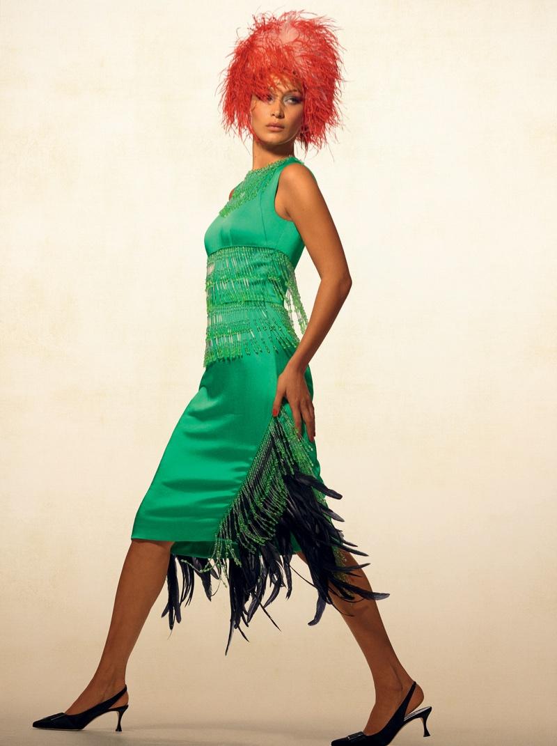 Белла Хадид на обложке Vogue Brazil (9 фото)