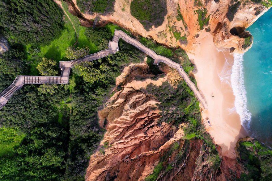 Лестница к небесам, Алгарви, Португалия. Автор фото: jcourtial.