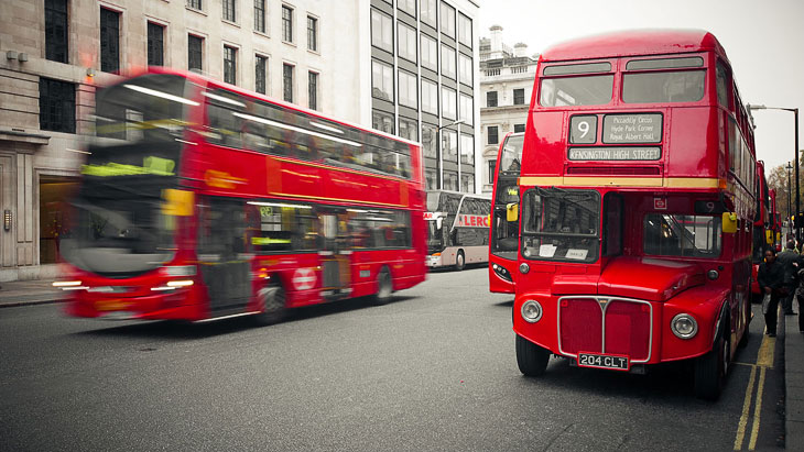 Открытки с видами Лондона (26 фото)