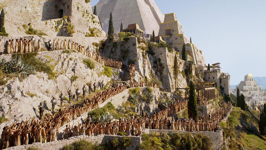 Супруги поехали в Хорватию, чтобы отыскать реальные места, где снимались сцены «Игры Престолов»