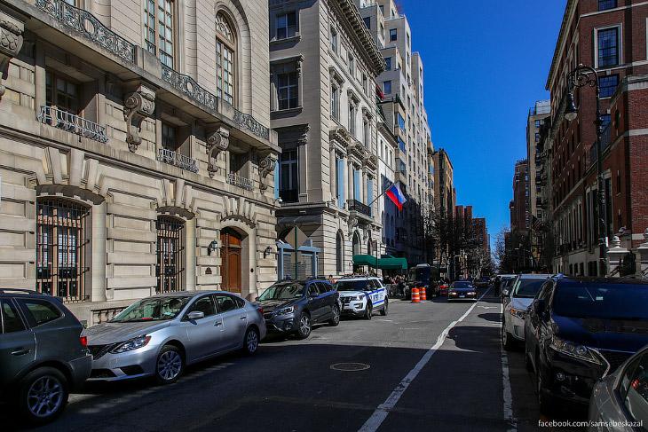 Как проходили выборы президента России в Нью-Йорке (54 фото)
