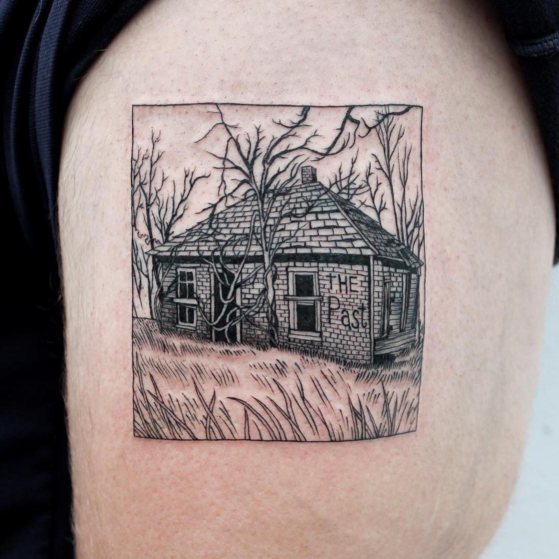Black Lines - The impressive blackwork tattoos of A-B M Tattoo