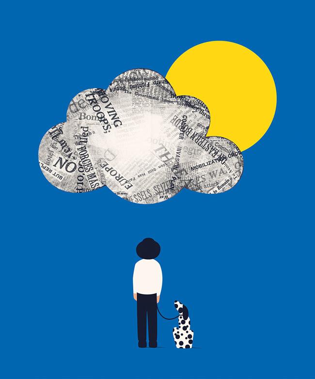 Evocative Illustrations by Francesco Ciccolella