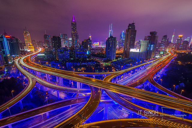 Frenetic Urban Time-lapse Videos of Shanghai, Vietnam and Kuala Lumpur by Rob Whitworth