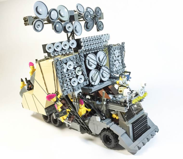 The Mad Max vehicles in LEGO!