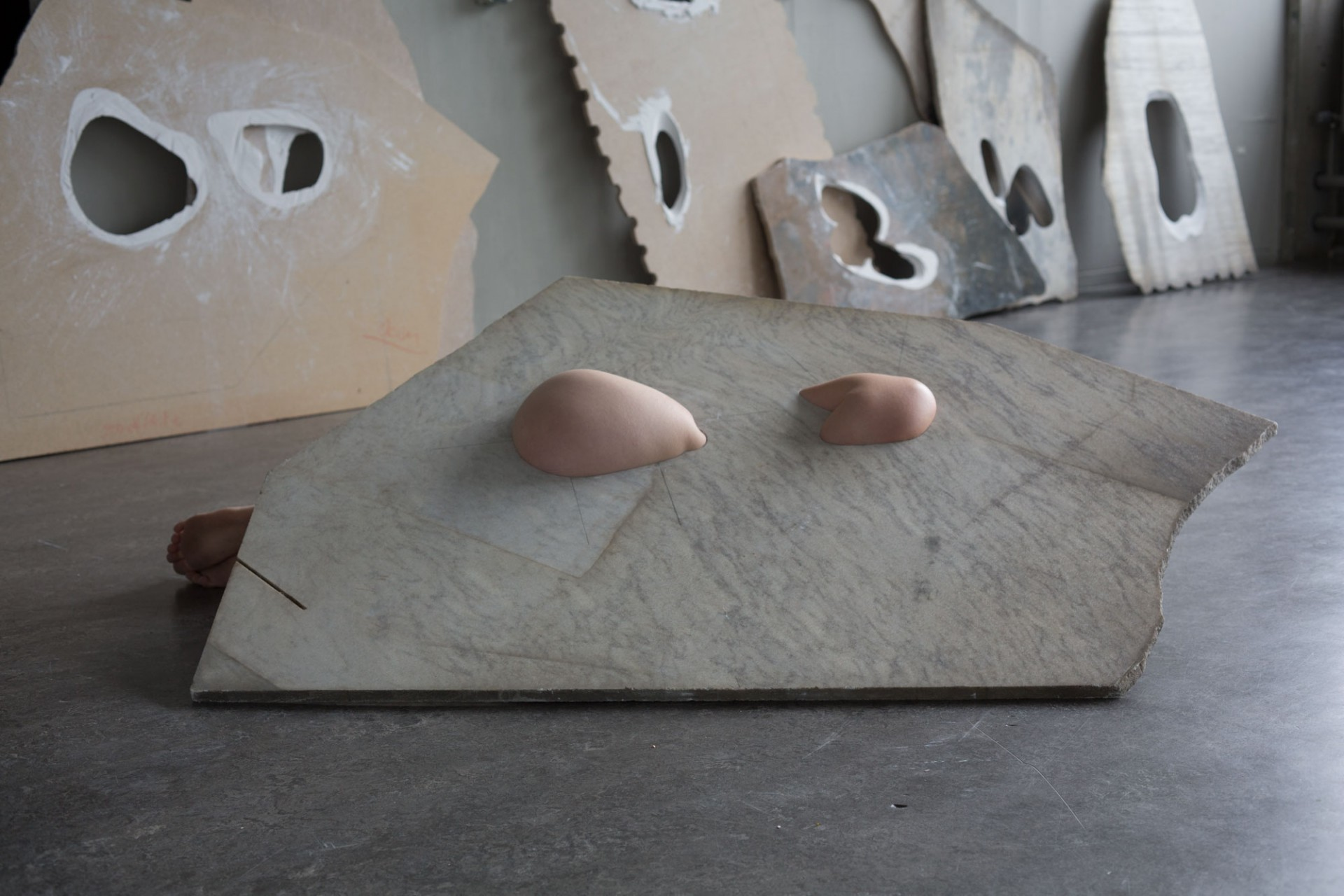 Creative Marble and People Sculptures