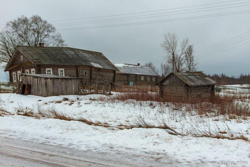 Старые дома, Вологодская область