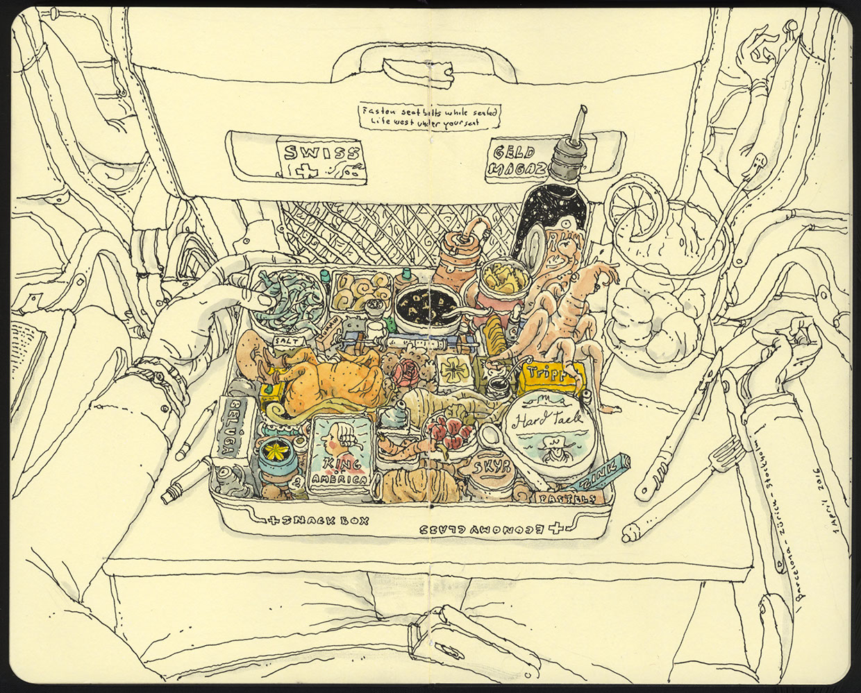 The Creative Moleskine Sketchbook of Mattias Adolfsson (23 pics)