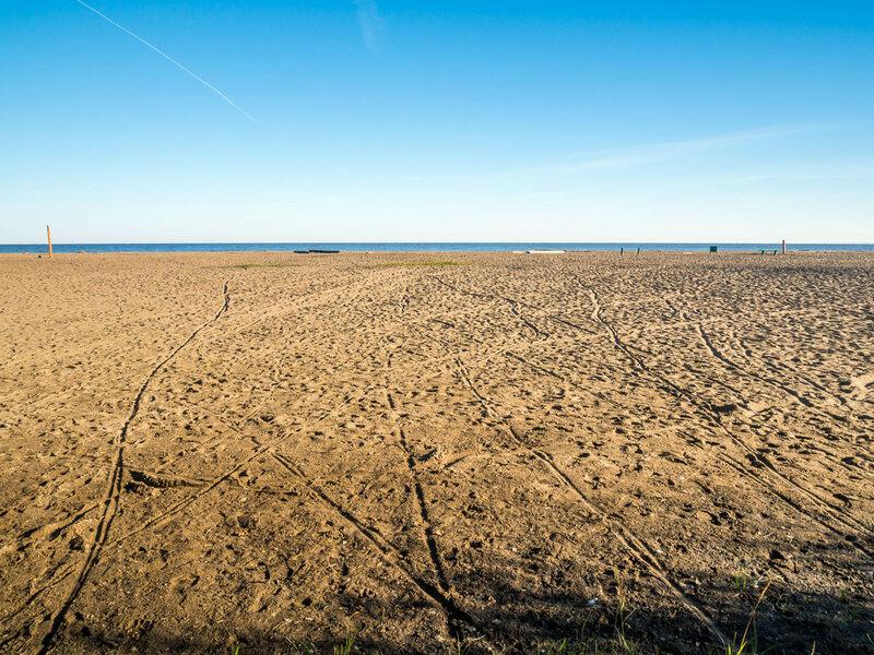 Городской пляж.