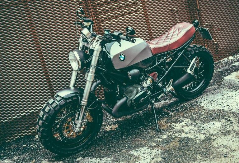 Emporio Elaborazioni Meccaniche: скрэмблер BMW R1200R Titano