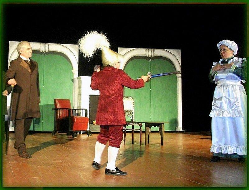 На сцене, спектакль, актёры. Фрагмент фото. Фотографии моих друзей, фотографии Светланы Левада.jpg