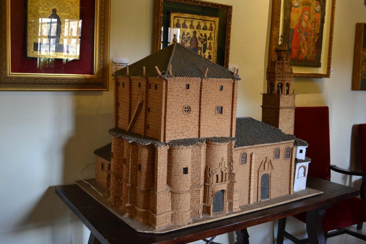 Макет собора в Ронде
