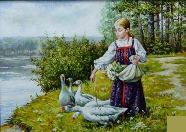 Как воспитывали дочерей в крестьянских семьях