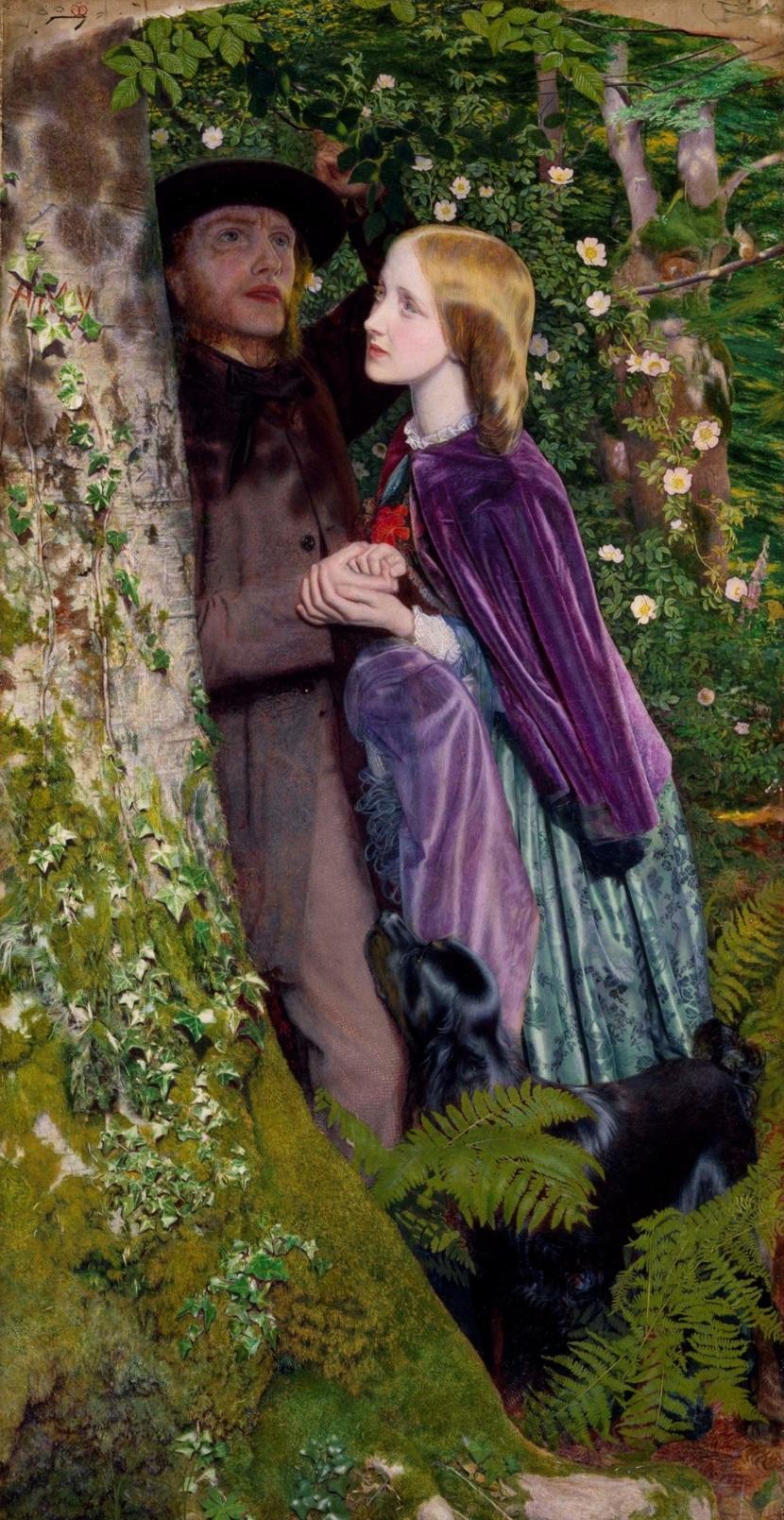 1859 Долгая помолвка (The Long Engagement) Бирмингем, Музей и Художественная галерея