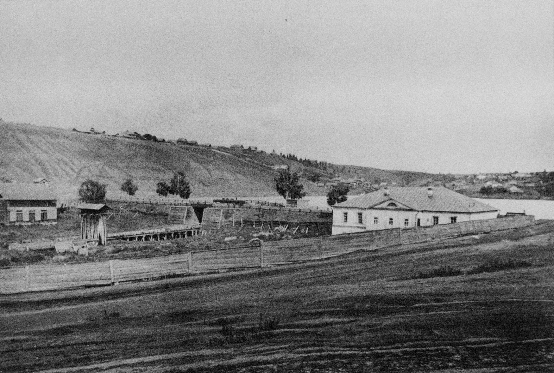 Бывшая заводская плотина в Мотовилихе