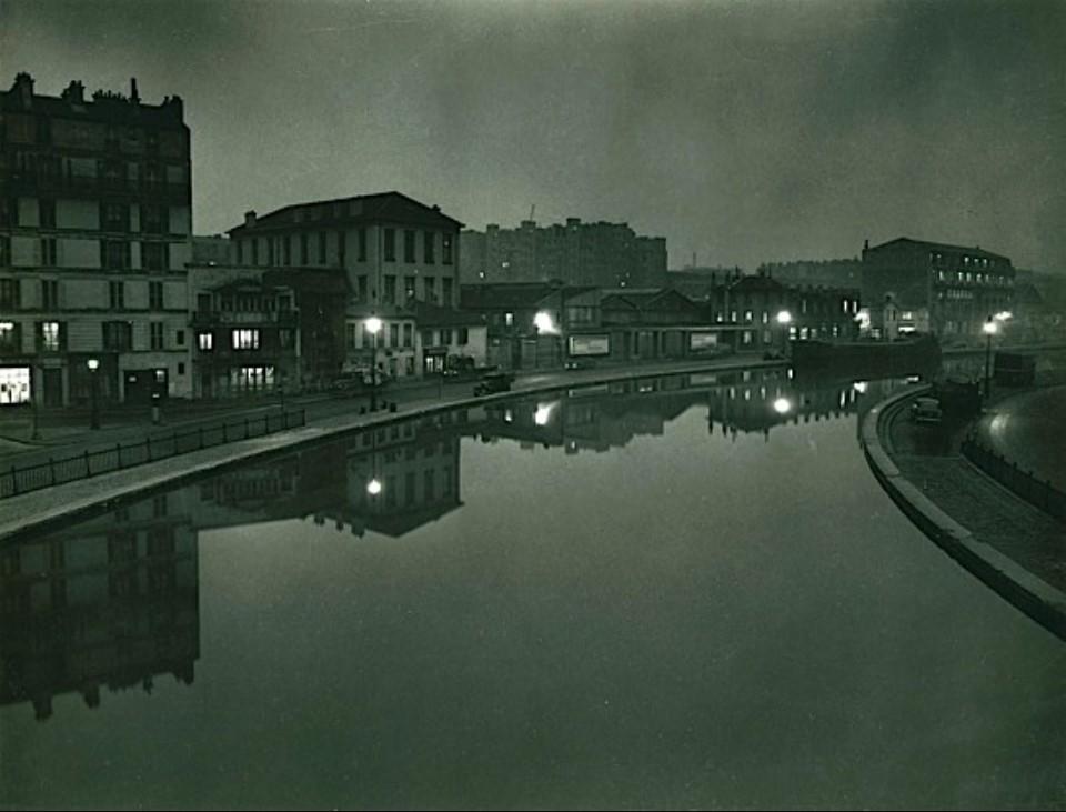 1955. Канал Сен-Мартен