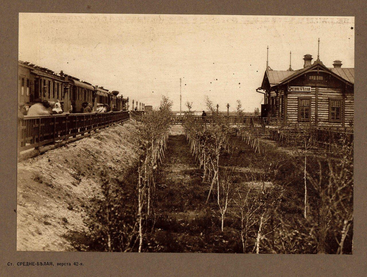 42 верста. Станция Средне-Белая