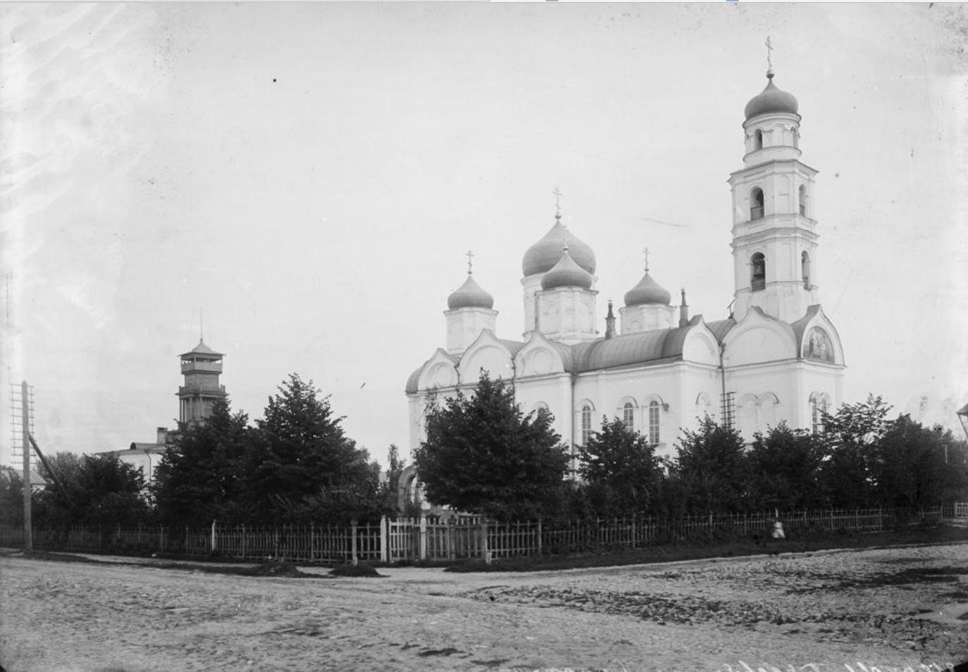 Общий вид церкви Святой Троицы