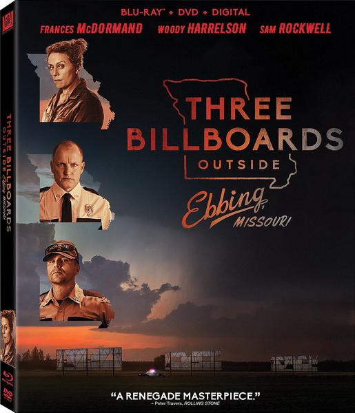 Три билборда на границе Эббинга, Миссури / Three Billboards Outside Ebbing, Missouri (2017/BDRip/HDRip)
