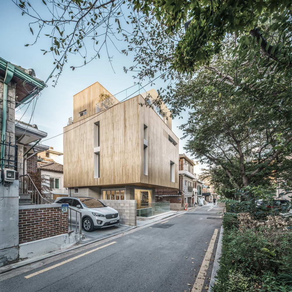Интерьеры. Городской дом на одной сотке в Сеуле