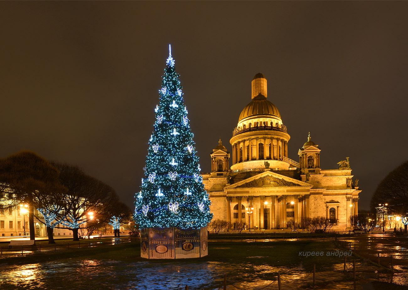 Санкт-Петербург. Новый 2018 год.