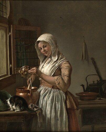 Wybrand Hendriks - The Milkmaid