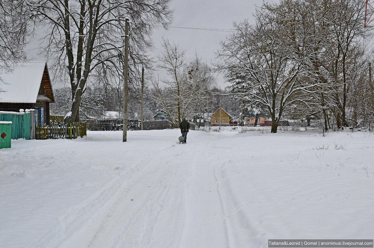 Зима в Баштане. Беларусь
