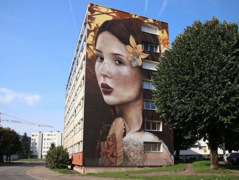 0 177af2 ddad770f XL - Необычная роспись стен высотных домов во Франции