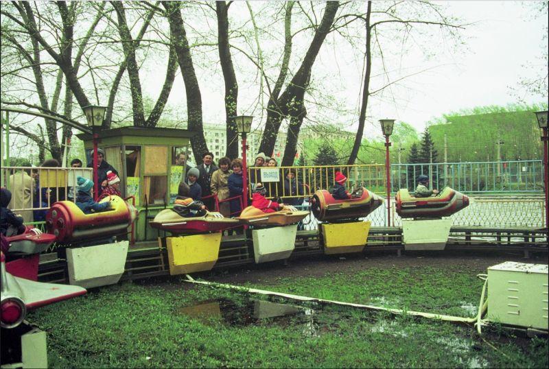 Московские выходные в конце восьмидесятых