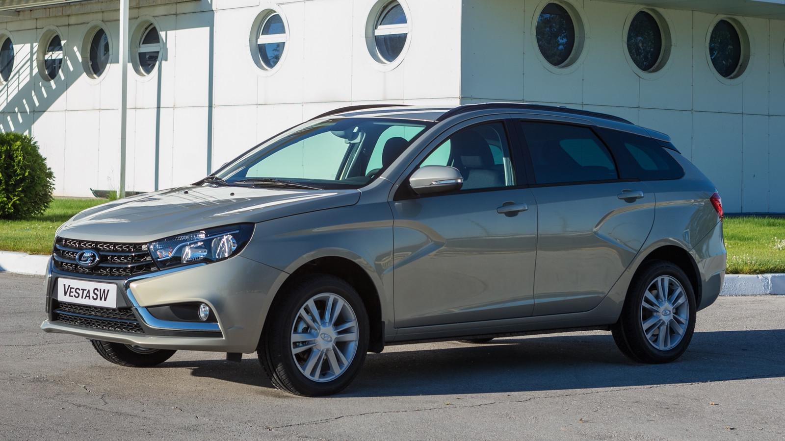 Объявлен старт продаж Lada Vesta SW и Vesta SW Cross (10 фото)