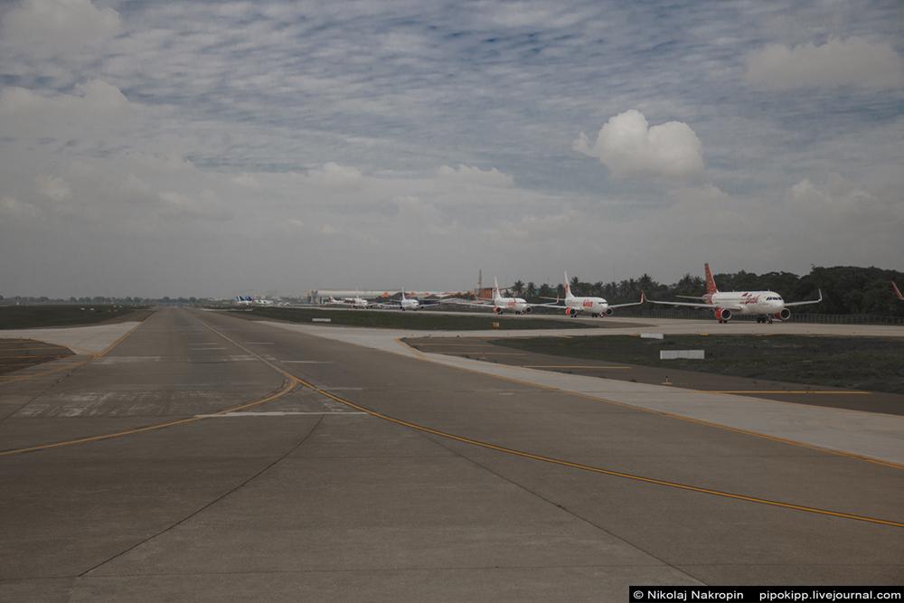 Слава индонезийским внутренним авиалиниям! Слава Господу!