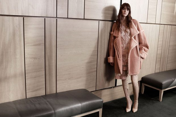 Vanessa Moody Models Zimmermann Fall Winter 2017.18 Collection