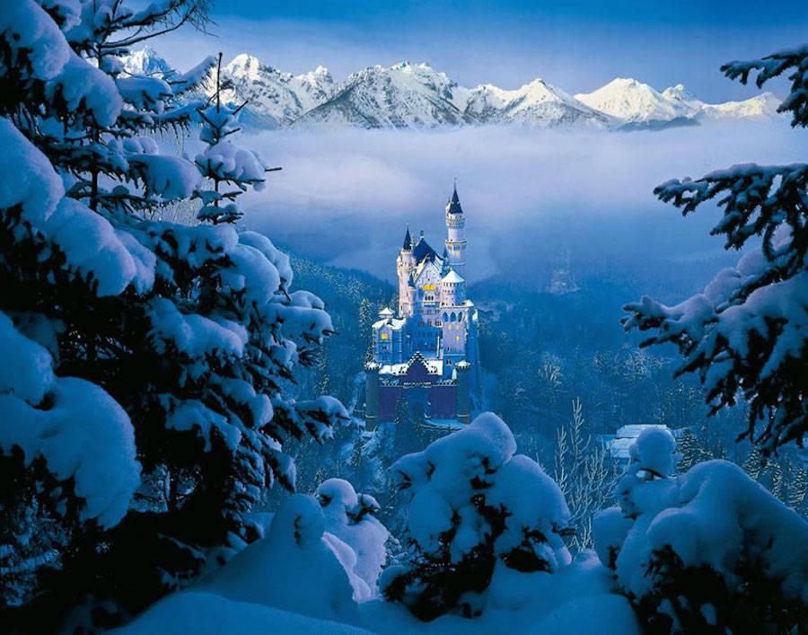 Sleeping Beauty – Neuschwanstein Castle, Bavaria, Germany.