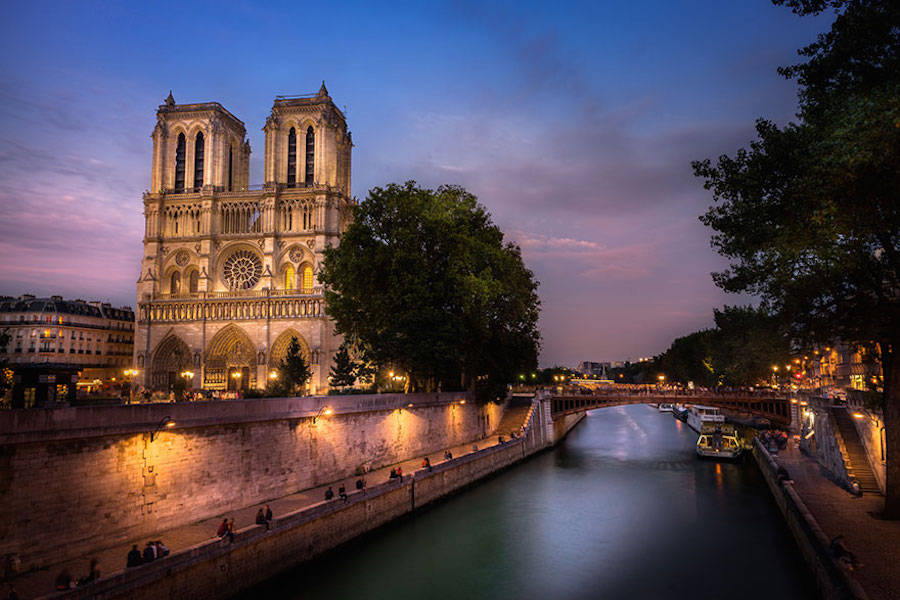 The Hunchback Of Notre Dame – Notre Dame Cathedral, Paris, France.