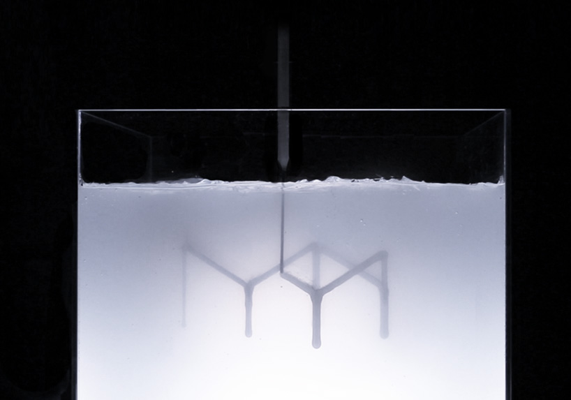 Rapid liquid printing by Self-assembly lab, MIT in collaboration with Steelcase
