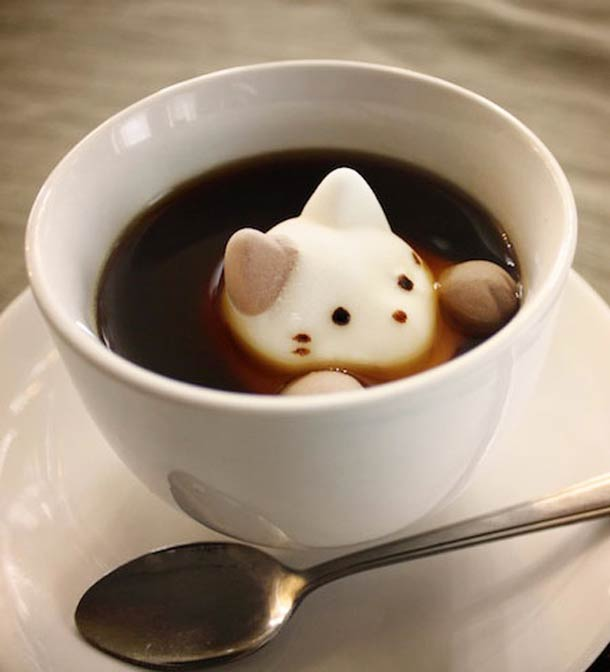 Marshmallow Cat – Cute and adorable Japanese sweets… (10 pics)