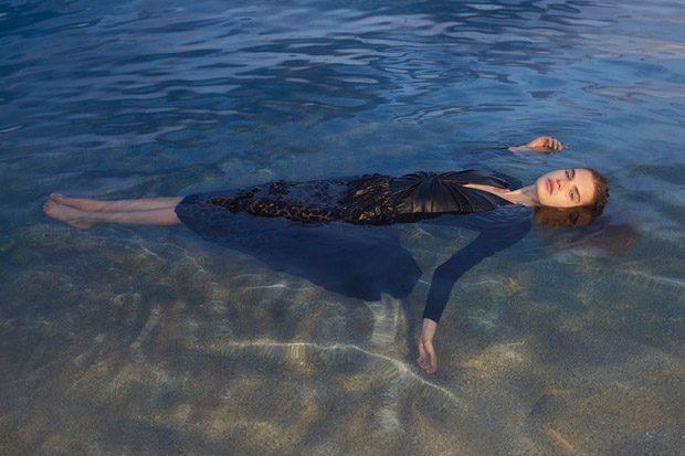 Karly Loyce & Sophie Rask Model Stella McCartney SS18 Collection