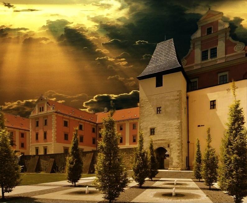 Konvikt_olomouc  - Университет  искусств  бывш.  иезуитский  колледж.