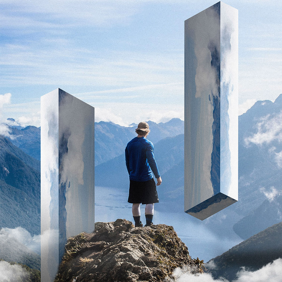 Landscape Mirrors: Photo Manipulations by Rigved Sathe